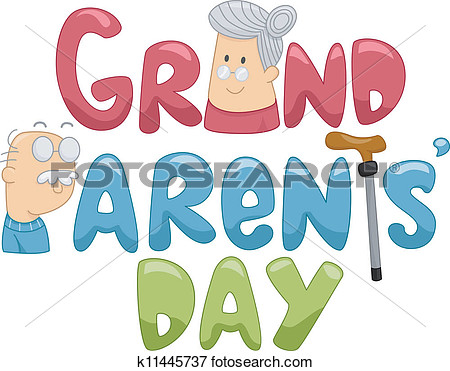 Drawings of Grandparents day .