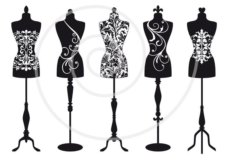 Dress Form Clip Art Free