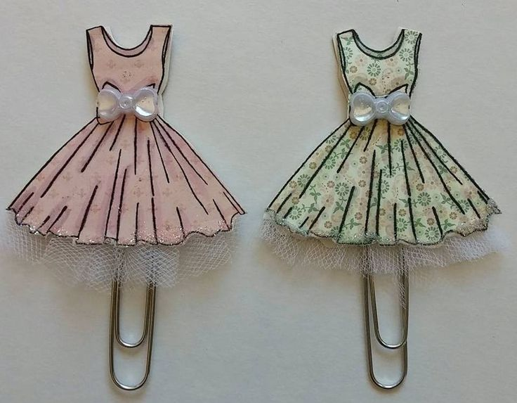 Dress Paper Clip Art -- Tutorial