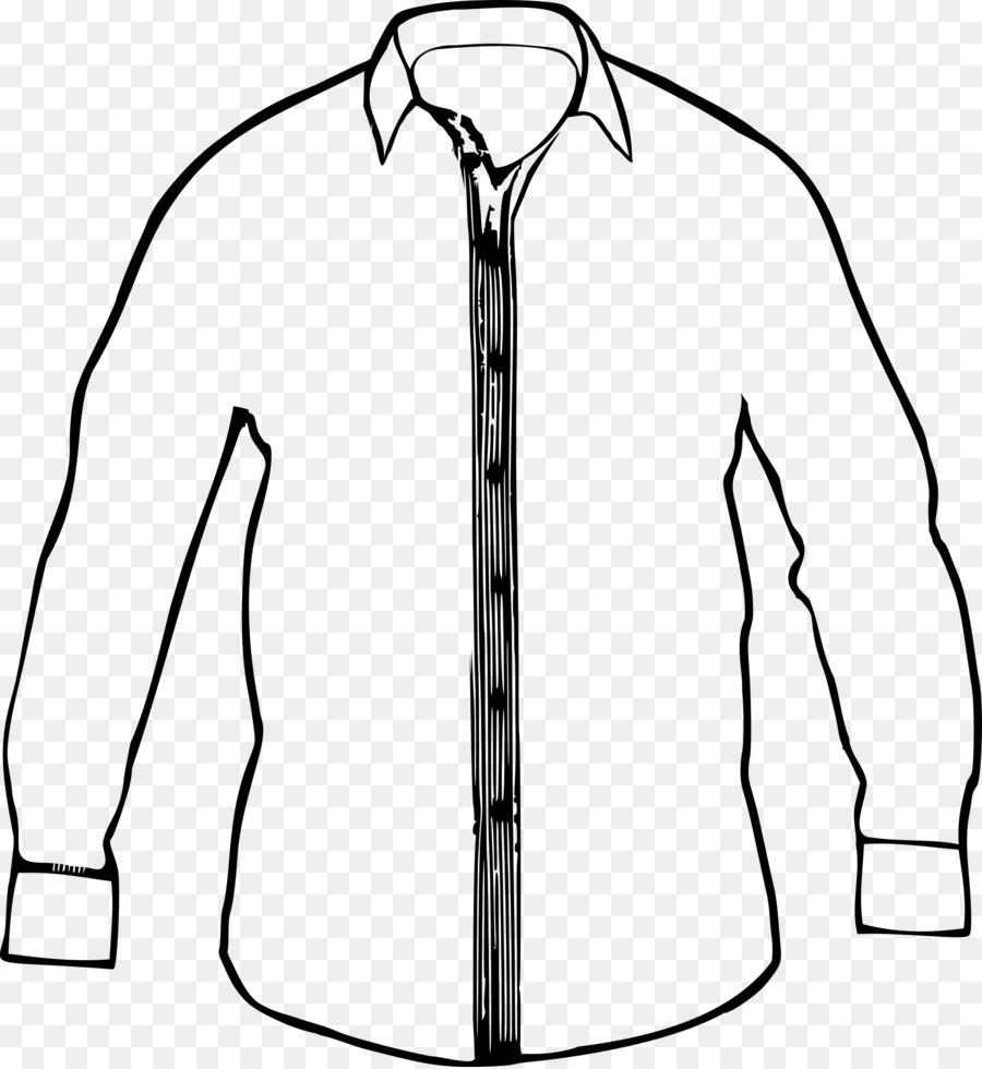 T-shirt Dress shirt Clip art - dress shirt