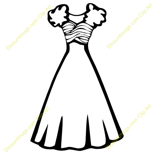Dresses Clip Art