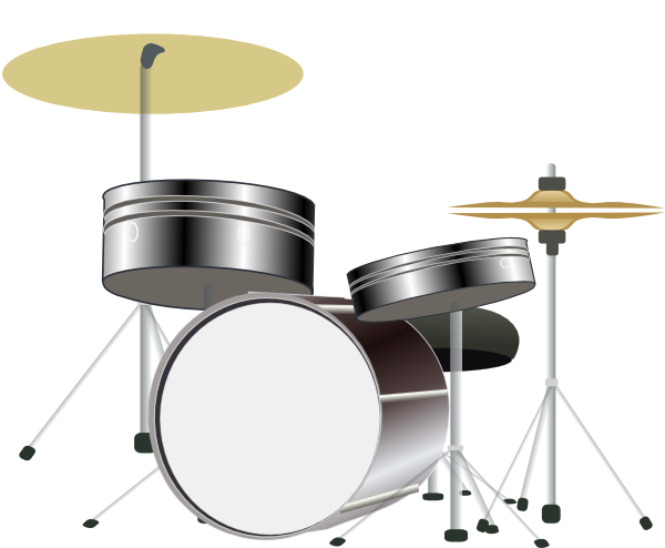 Drum Kit Clip Art-Drum Kit Clip Art-3