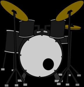 Drum Set Clip Art-Drum Set Clip Art-6