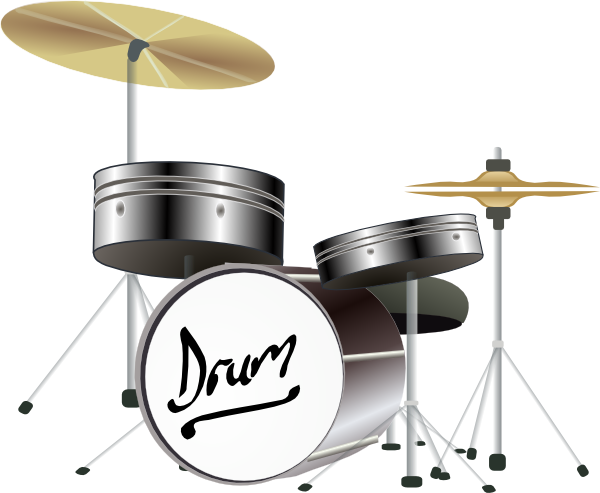 Drum set clipart 1 Drum set clipart 2
