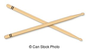 . ClipartLook.com Drumsticks - A Pair Of-. ClipartLook.com Drumsticks - A pair of wooden drum sticks over a white.-13