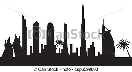 Dubai By Night - Csp6599800-dubai by night - csp6599800-5
