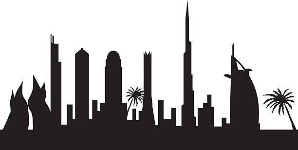 Dubai cityscape - abstract mo