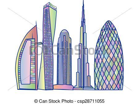 Dubai Skyline - Csp28711055-dubai skyline - csp28711055-14