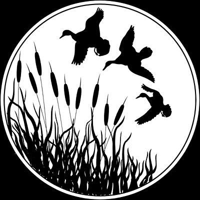 Duck Silhouette Clip Art | ... Stock Pho-duck silhouette clip art | ... Stock Photo: Illustrated silhouette of ducks flying-7