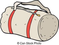 . ClipartLook.com cartoon sports bag - freehand drawn cartoon sports bag