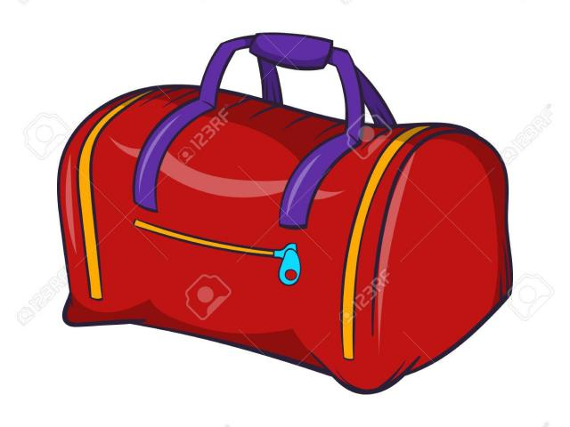 Duffel Bag Clipart gym bag