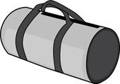 Duffle Bag Clipart #1