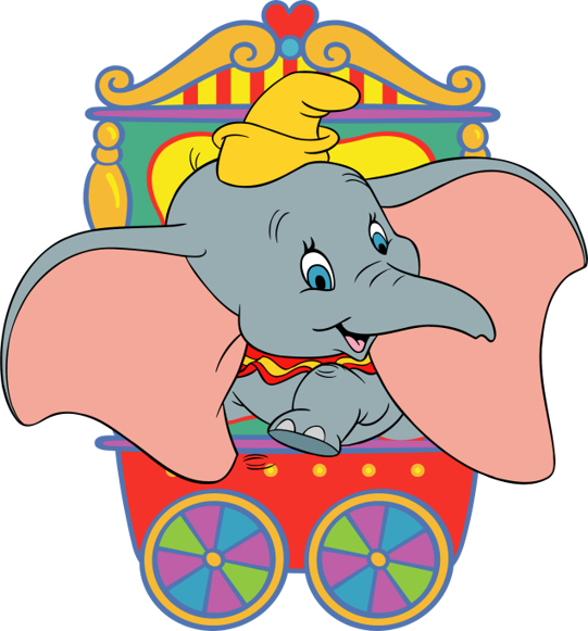 Dumbo Christmas Clipart Cliparthut Free Clipart