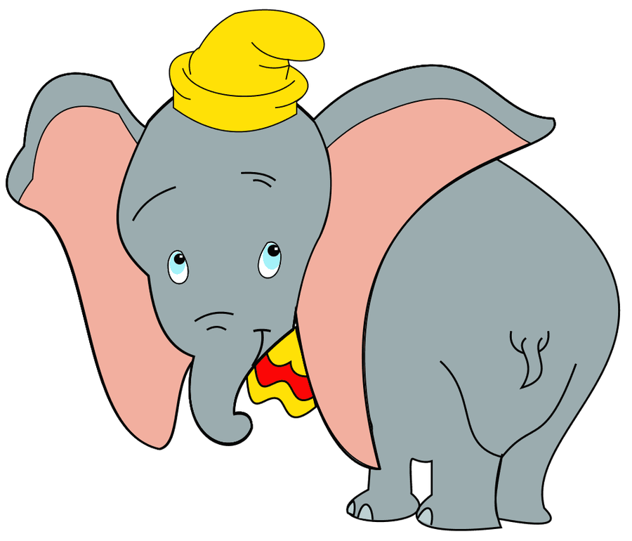 Dumbo Clipart - Animal .