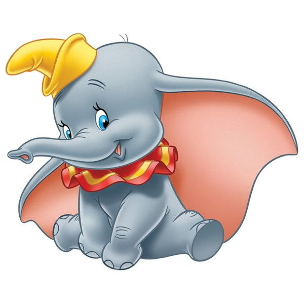 Dumbo HQ u0026gt; Disney Character Clipart u0026gt; Disney-Clipart clipartall.com ❤ liked on Polyvore