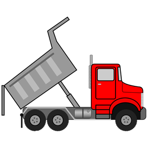 Dump truck clipart free .
