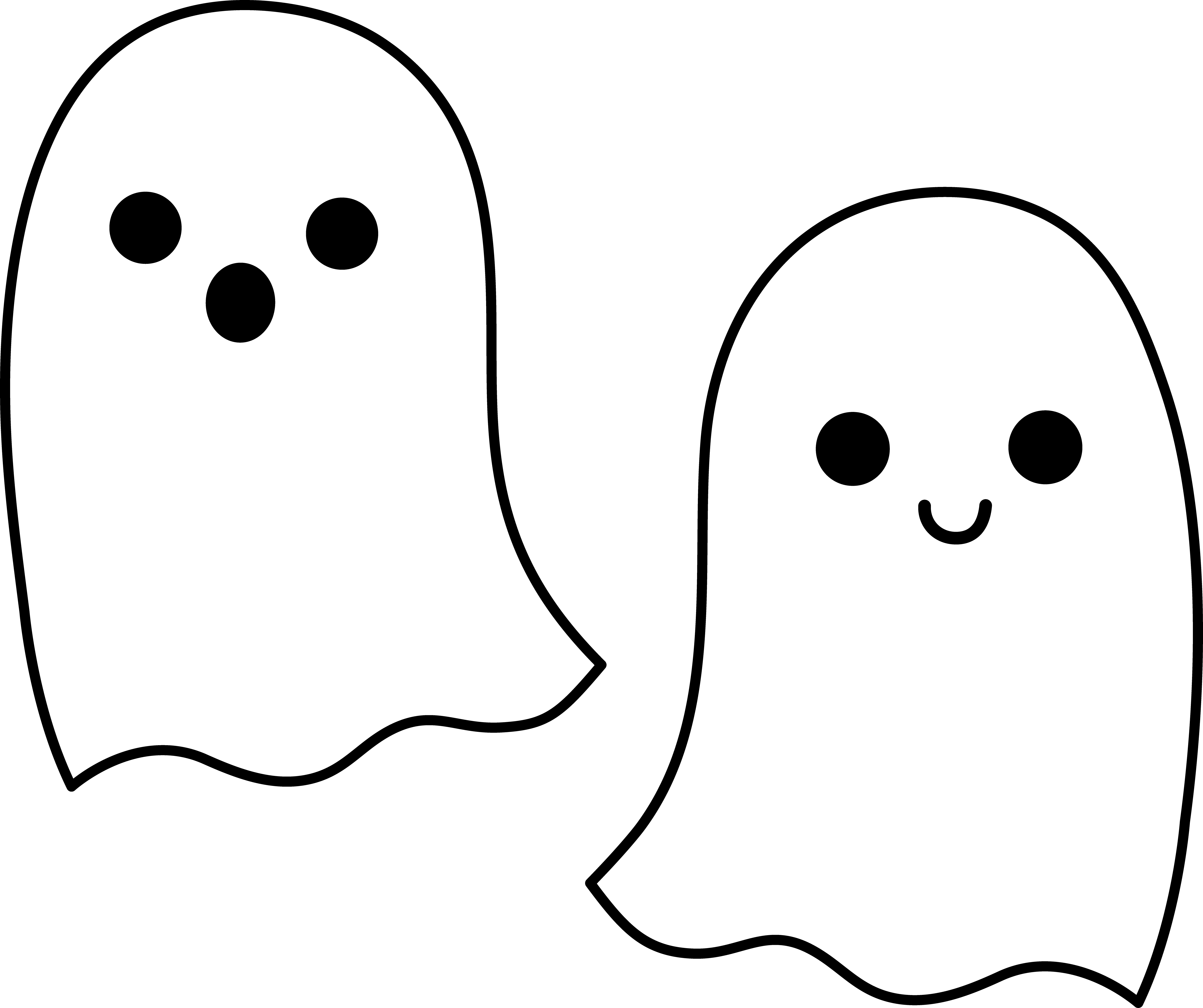 cute ghost clipart