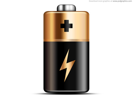 Duracell Battery; Battery Icon (PSD)-Duracell Battery; Battery icon (PSD)-14