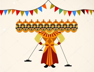 Happy Dussehra Clipart