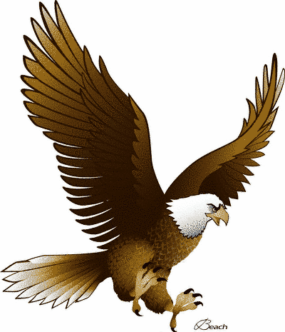Eagle Clip Art With Raised Wings Free Cl-Eagle clip art with raised wings free clipart images 2-5