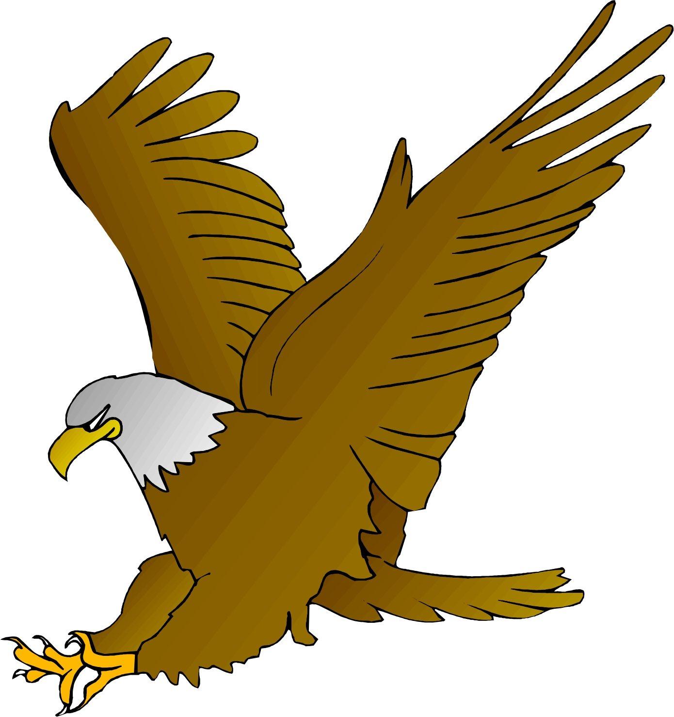 Cartoon Eagle Clipart-Cartoon Eagle Clipart-6
