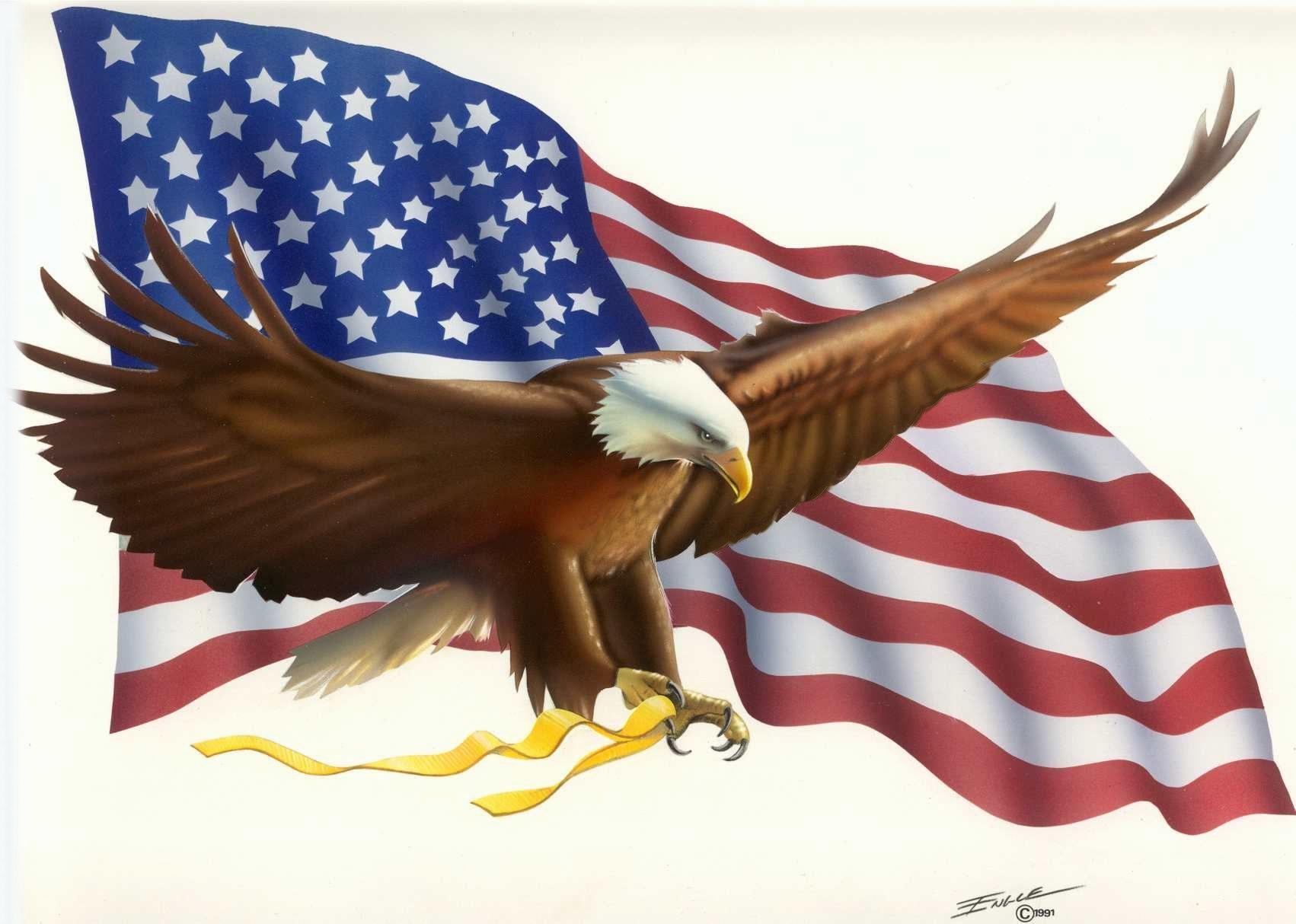 Eagle Flag Engle Bob Free .