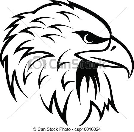 ... Eagle Head - vector illustration of Eagle Head Eagle Head Clip Artby ...