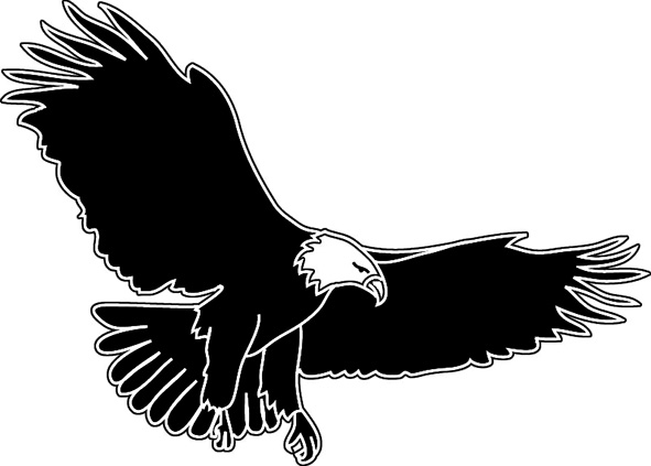 Eagle wings clipart free .