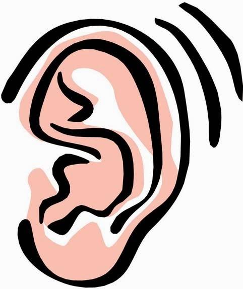 ear clip art listening ears clipart clipart kid