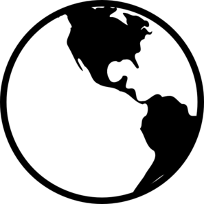 earth science clipart black and white