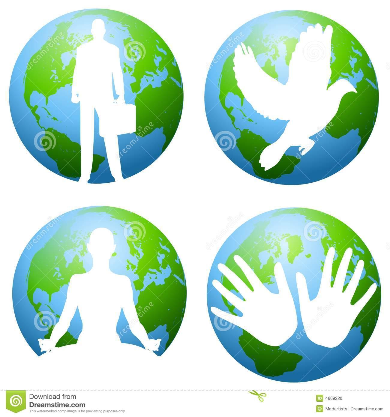 Earth and Environmental Clip Art