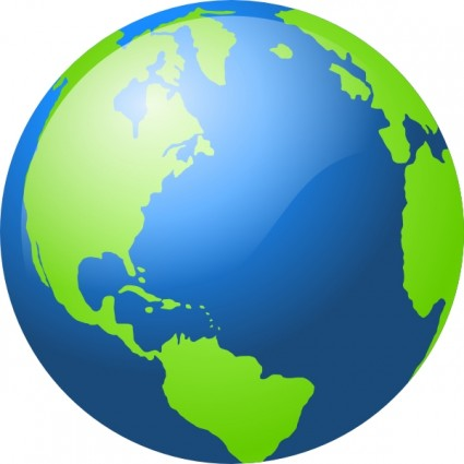 Earth Clip Art - Globe Clip Art