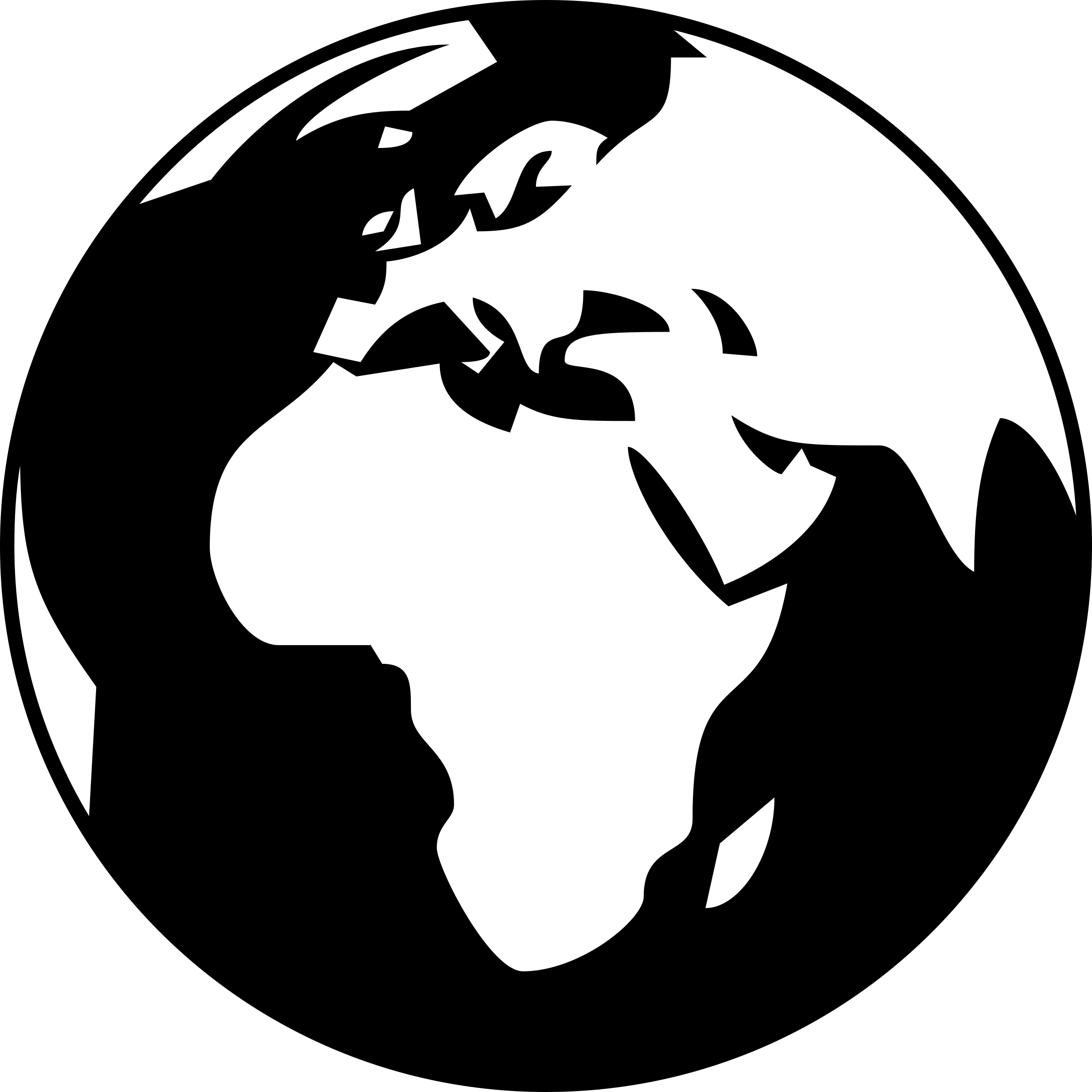 Earth clipart black and white .