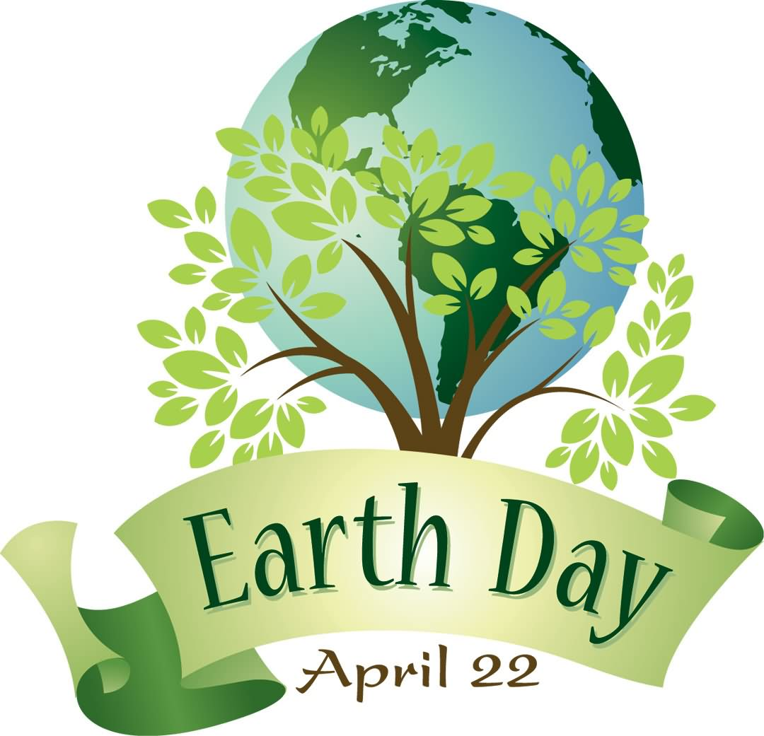 Earth Day April 22 - Earth Day Clipart