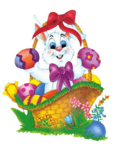 Free Clipart Pictureu2026 Easter Pictures PNG Easter Bunny Basket
