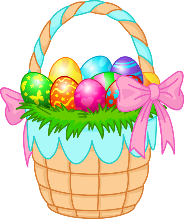 Easter Basket Clipart - Easter Basket Clip Art