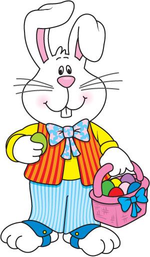 Easter Bunny Clip Art - Clip Art Easter Bunny