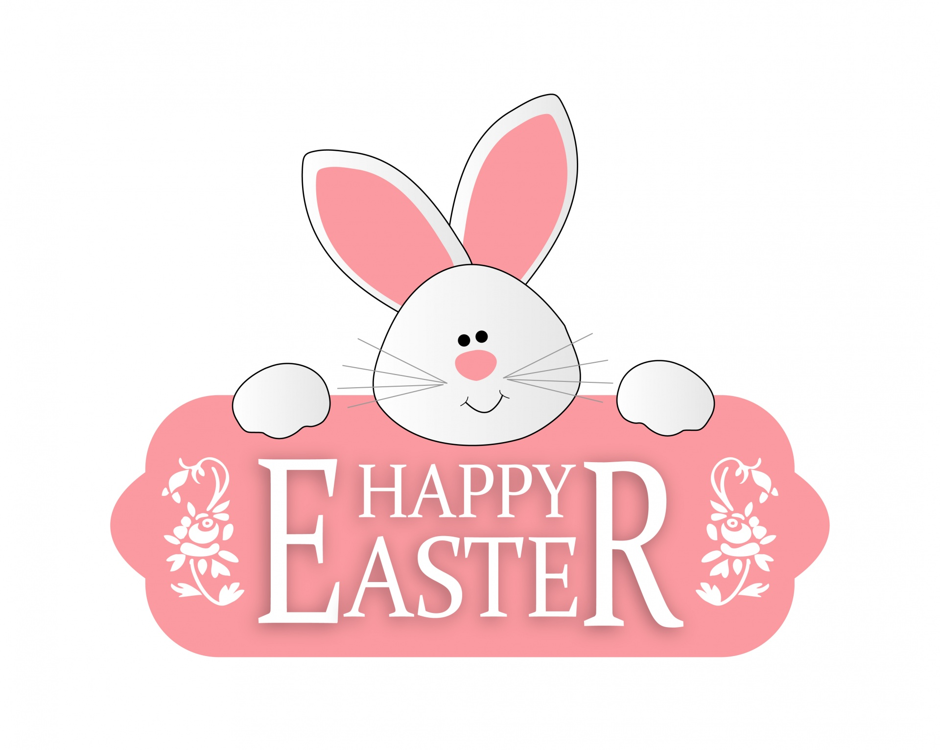 Easter Bunny Cute Clipart