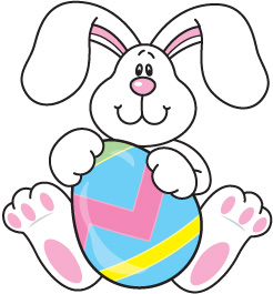 Easter bunny clipart free . - Clip Art Easter Bunny