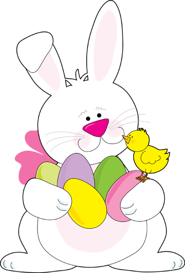 Easter Bunny Clipart Free .