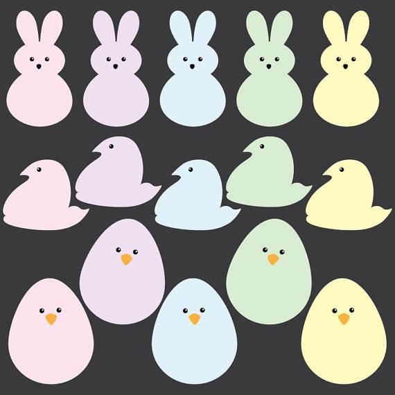 Easter Bunny Peeps Inspired .-Easter Bunny Peeps inspired .-5