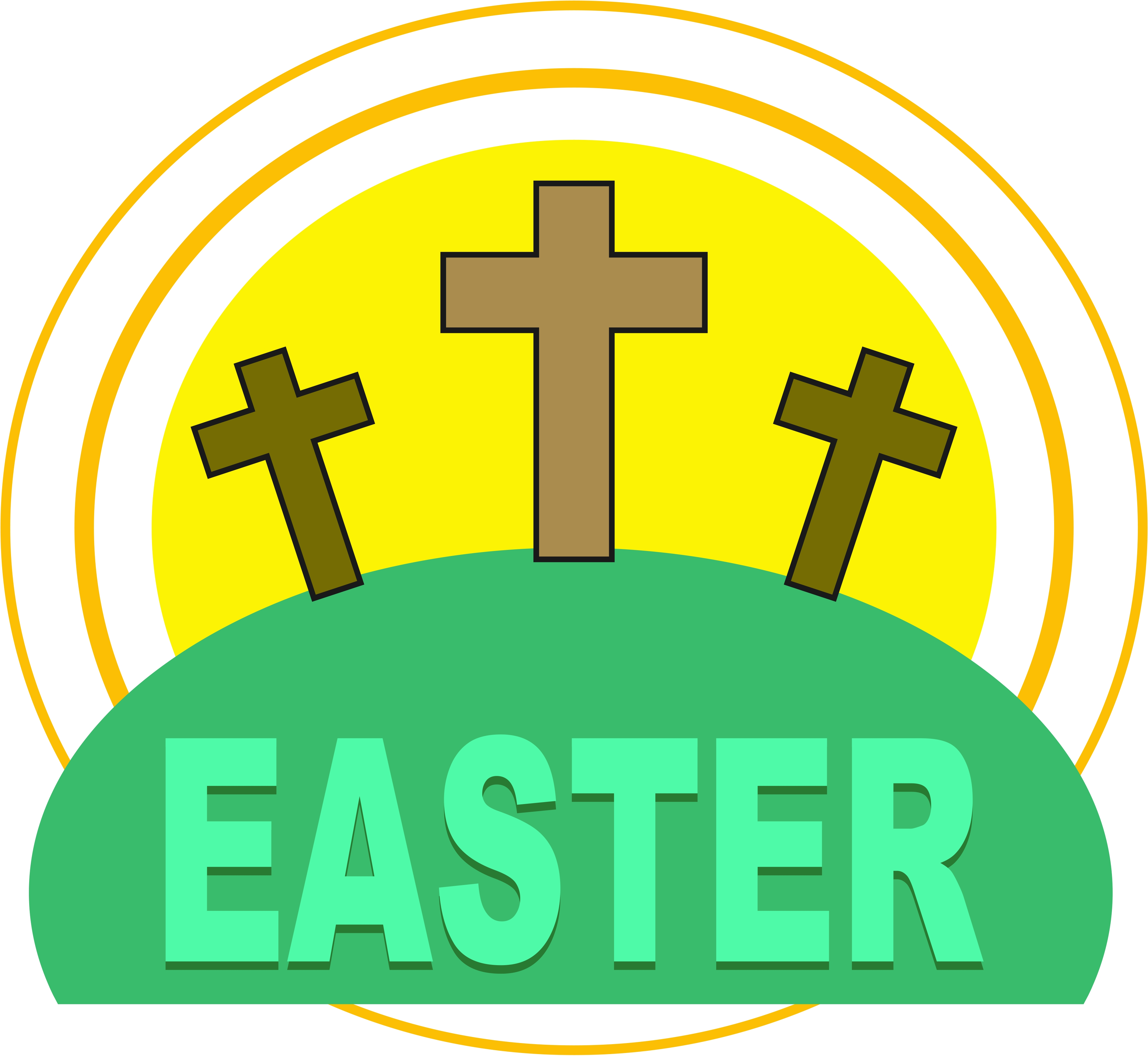 Easter Calvary Free Images At Clker Com Vector Clip Art Online