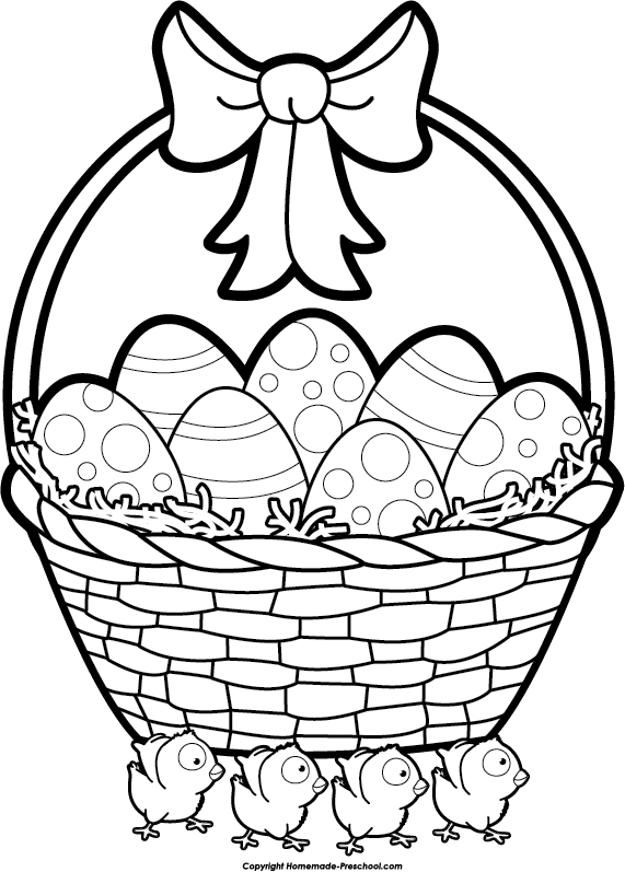 Easter Clip Art Black And White - clipartall ...