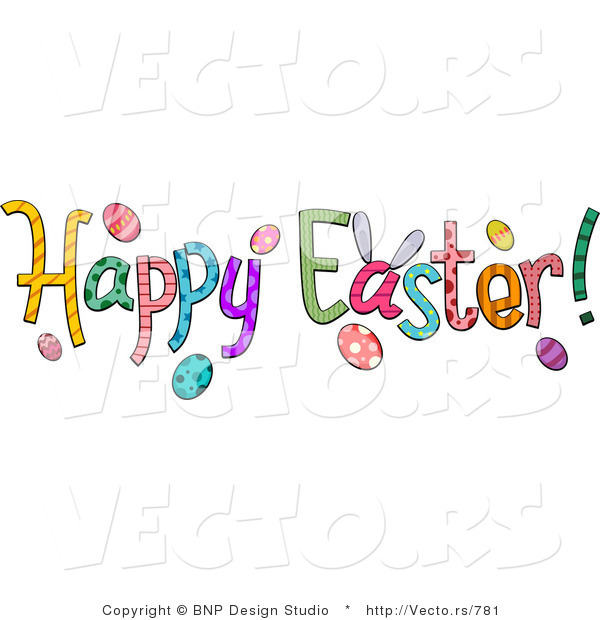 easter clip art free cartoon happy clipart