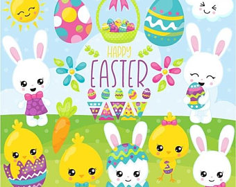 80% OFF SALE Easter clipart ClipartLook.com