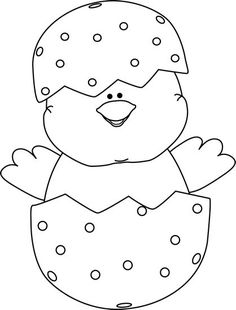 Easter Clipart Black And White Picture