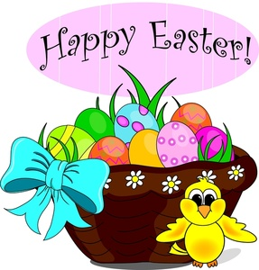 Spring easter. Clip art pictures