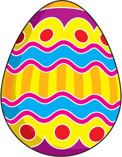 easter-egg-clip-art- . - Easter Egg Clipart