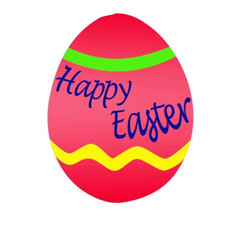 Easter Egg Clip Art Vector - Easter Clip Art Free