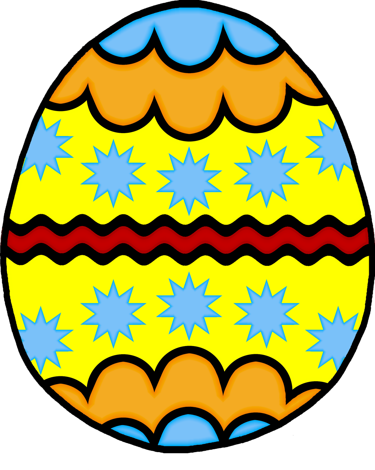 ... Easter Egg Clipart - Free Clipart Images ...